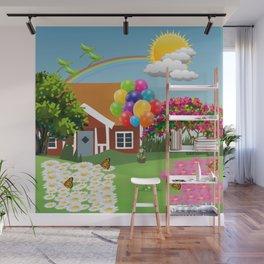 Paisaje color Wall Mural