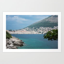 Dubrovnik Lokrum Art Print