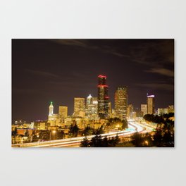 Meet you in Beautiful Seattle Canvas Print