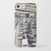 cars iPhone & iPod Cases featuring cars by danielrcart