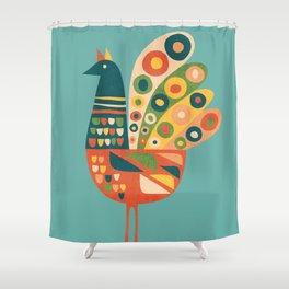 Century Hen Shower Curtain