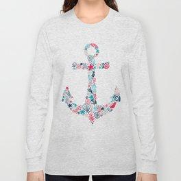 Seashell Anchor Long Sleeve T-shirt