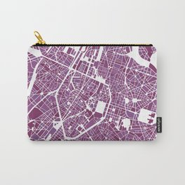 Brussels City Map II Carry-All Pouch