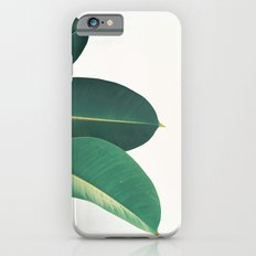 Rubber Fig Leaves II iPhone 6s Slim Case