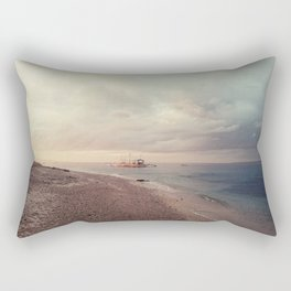 oh, Sea, how I love thee Rectangular Pillow