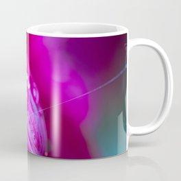 Dew Drops On A Petal Coffee Mug