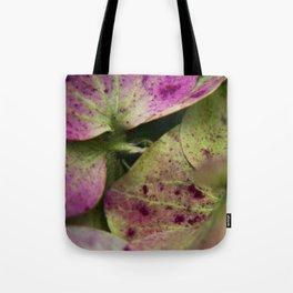 hydranjea pink and green Tote Bag