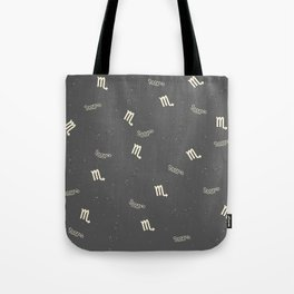 Scorpio Pattern Tote Bag