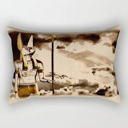 Anubis God of Egypt Rectangular Pillow