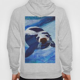 Swimming Seal Hoody