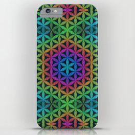 The Flower of Life (Sacred Geometry) 4 iPhone Case