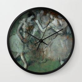 "Edgar Degas ""A group of dancers"" Wall Clock"