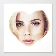 I Heart Scarlett Canvas Print