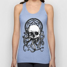 Pieces of Cthulhu Unisex Tank Top