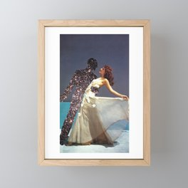 Ladies with an attitude , fellas that were in the mood Framed Mini Art Print