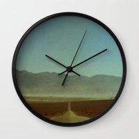 sandman Wall Clocks featuring Enter the Sandman by Ben Renschen