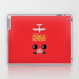 Porco Rosso - Hayao Miyazaki minimalist movie poster - Studio Ghibli, japanese animated film Laptop & iPad Skin