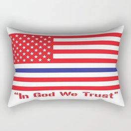 IN GOD WE TRUST Rectangular Pillow