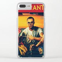 bobby tarantino II Clear iPhone Case