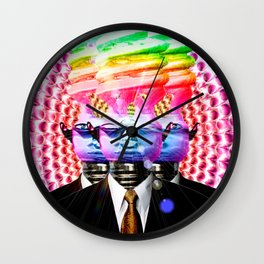 We Are Many. We Are One! Wall Clock