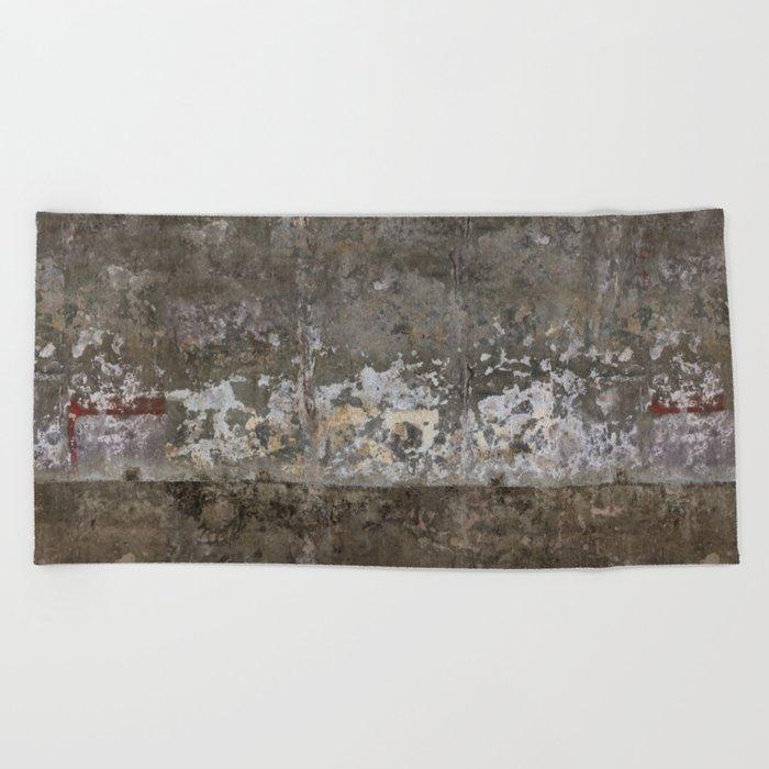 Abandoned Factory Beach Towel