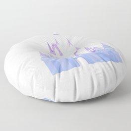 Christmas Castle 2 Floor Pillow