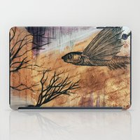 literary iPad Cases featuring Literary Flying Fish by Sarah Sutherland