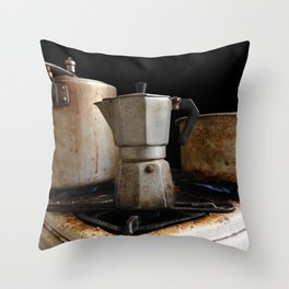 Café cubita Throw Pillow