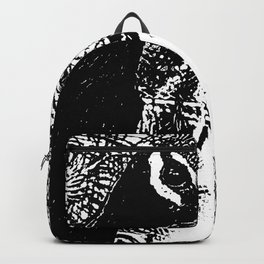 Nude Peacock Woman Backpack