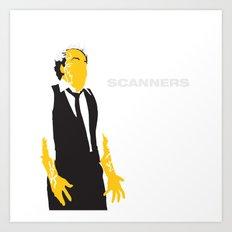 Scanners Art Print