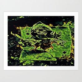 Reaper Of Aces Art Print