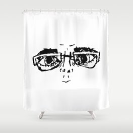 beady eyes Shower Curtain