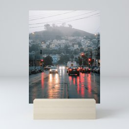 San Fransisco Rain Mini Art Print