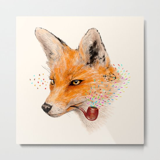 Fox VI Metal Print
