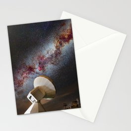 Contact! Search for ExtraTerrestrial Intelligence in the Stars! Stationery Cards