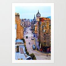Edinburgh Royal Mile Art Print