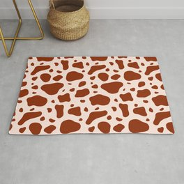 How Now Brown Cow Rug