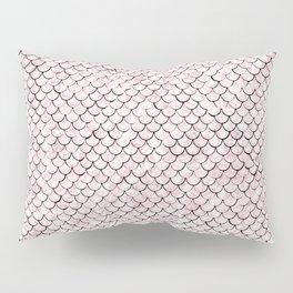 Rosy mermaid Pillow Sham