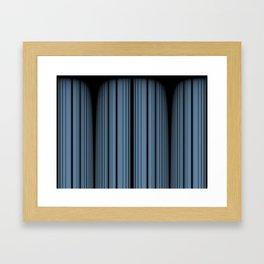 Rocky Blue Framed Art Print