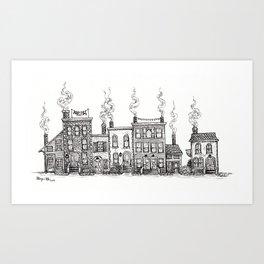 A charming block Art Print