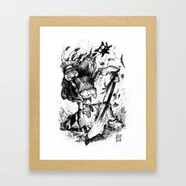 Gainax/Trigger Tribute 01 Framed Art Print