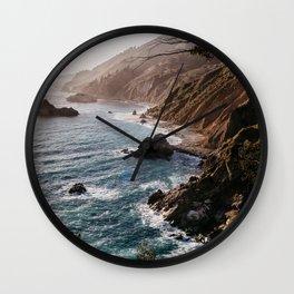 Big Sur Coast Wall Clock