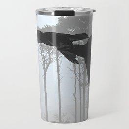 Crow Goes Hunting Travel Mug