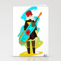 transistor Stationery Cards featuring Transistor by Jamerson