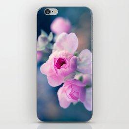 Pinkie Rose Buds iPhone Skin