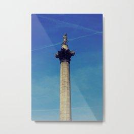 Nelsons Column vintage style photo. Metal Print