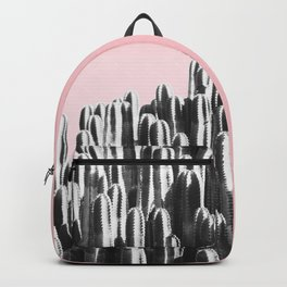 Cactus B&W & Sunset Backpack