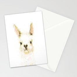 Digital Llama Stationery Cards