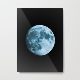Moon - Space Photography Metal Print