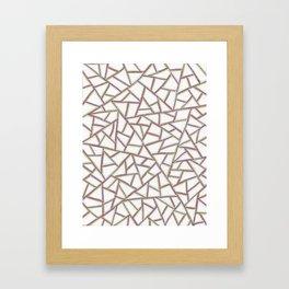 Gridlock One Framed Art Print
